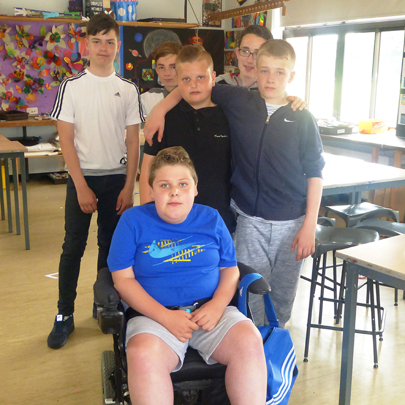 Pupils dress down to support schoolmates sporting dreams