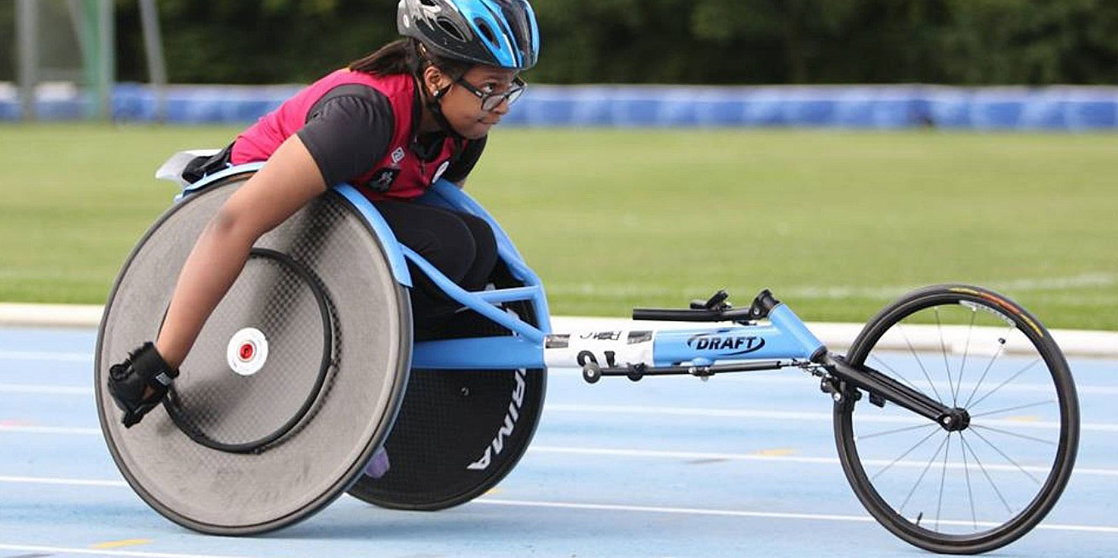 Wheelchair athlete heading for Rio