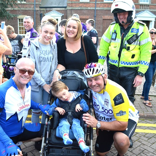 Walsall mum thanks police fundraisers and a national charity for Disney World holiday