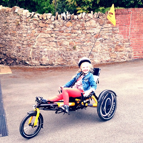 Urgent appeal launched to help disabled children in Bury St Edmunds access therapy tricycles