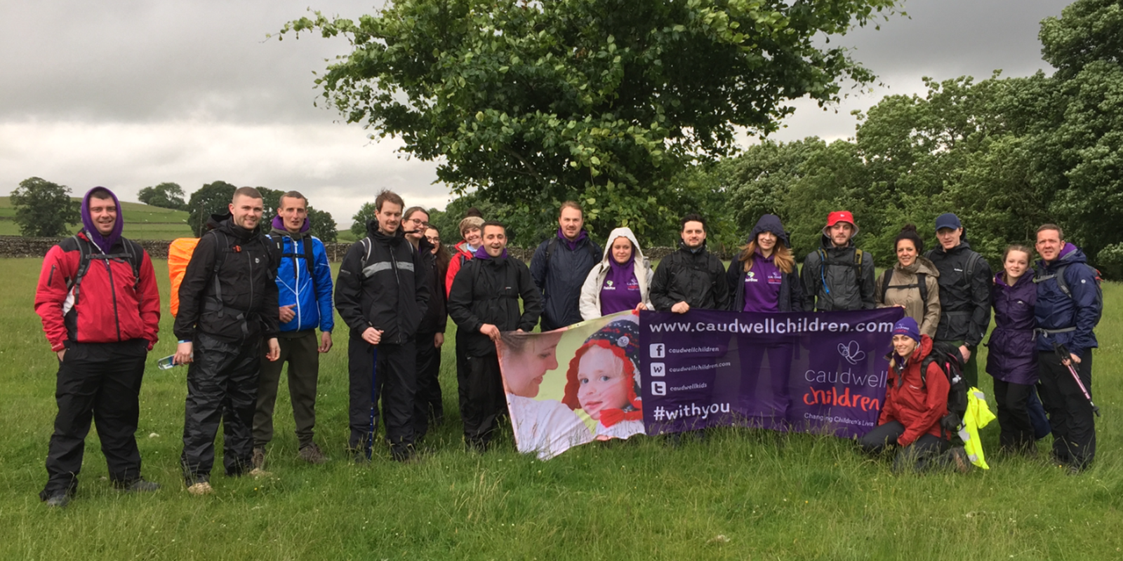 a group taking on the Yorkshire 3 Peaks